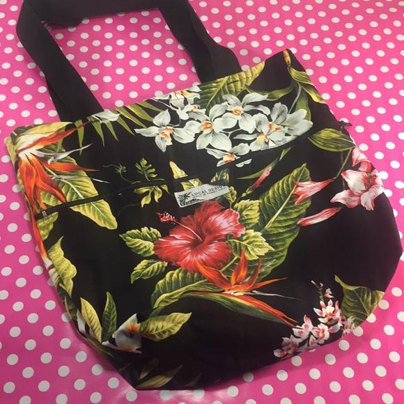 b82b9a5e5f Local Design Made in Hawaii Handbags - LOCAL DESIGN MADE IN HAWAII  Reversible Tote